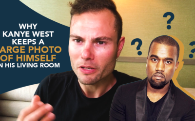 Why Kanye West Keeps a Huge Photo of Himself in His Living Room